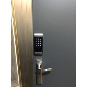 電子鎖安裝實例