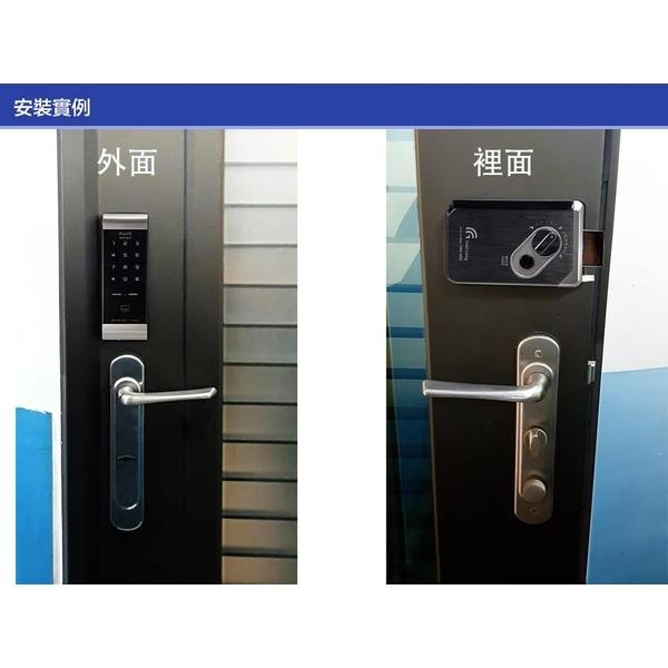 電子鎖安裝實例-高斯電腦股份有限公司-台北