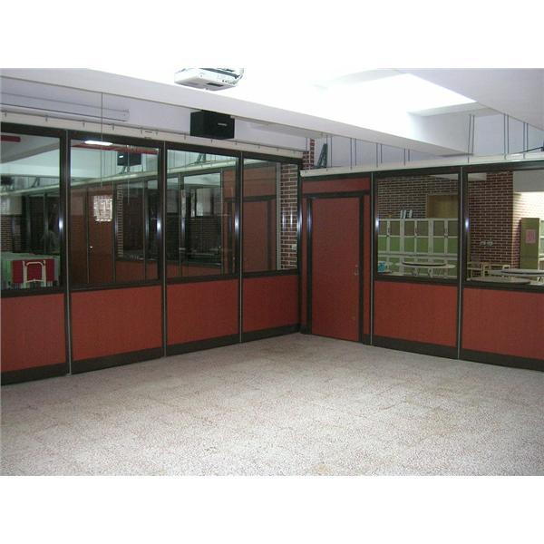 三峽西蓮淨苑研習室用膳室  (隔板設計:上玻下板)-蘭滋達企業有限公司-台北