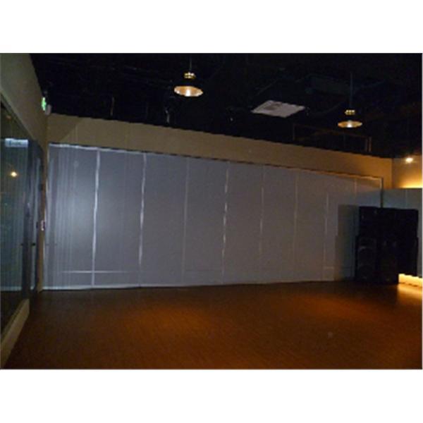 TBC夢想娛樂舞蹈教室摺疊式隔間  (美耐板面分上大下小2格)-蘭滋達企業有限公司-台北