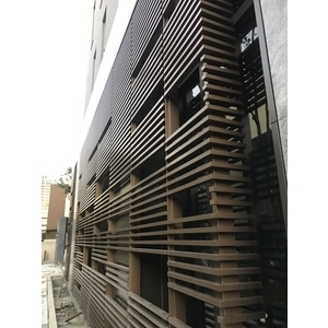竹北 中陽建設- 造型鋁格柵