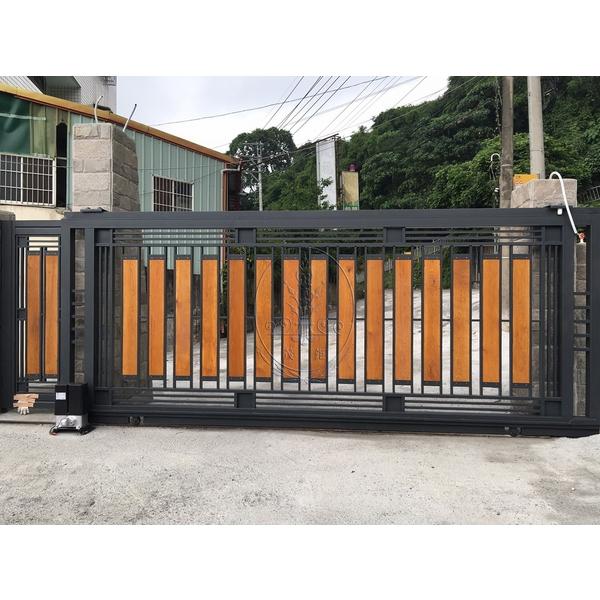 日式圍牆門