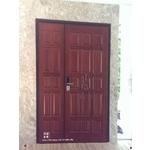 實木鋼製門