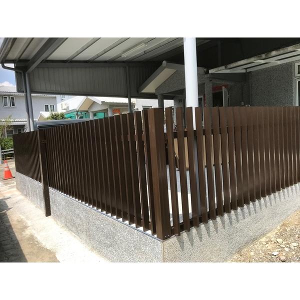 鋁格柵,H鋼安全玻璃採光罩9-長虹鋁業行-台南