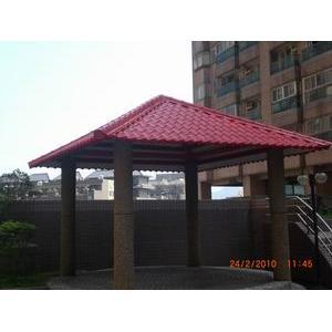 基隆琉璃鋼瓦屋頂