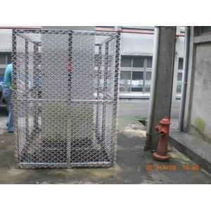馬防部駐台中心不銹鋼網圍籬工程