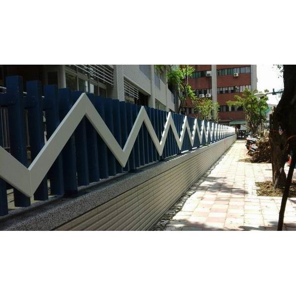 志偉營造-海山高中造型欄杆