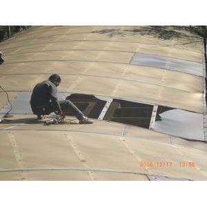國立基隆海事學校採光罩更新工程