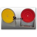 U型鋁合金底座(雙面)反光導標