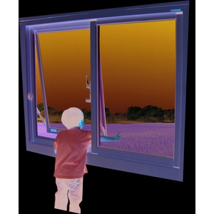 兒童安全防墜窗中窗