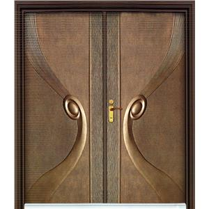 鑄鋁門-彩帶