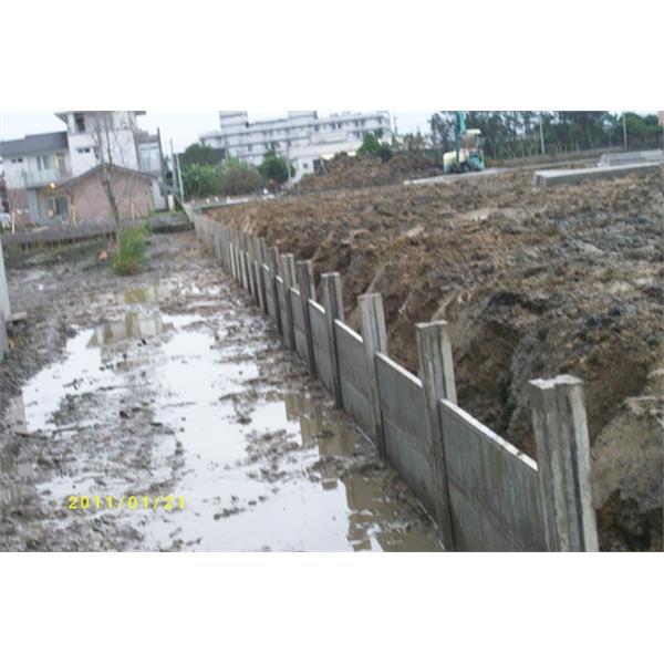 組合式圍牆施工現場2-再興水泥製品有限公司-宜蘭