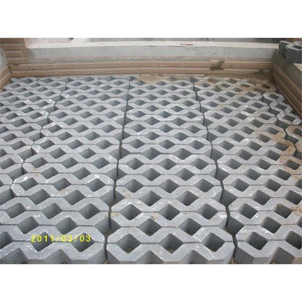 植草磚完工圖-再興水泥製品有限公司-宜蘭