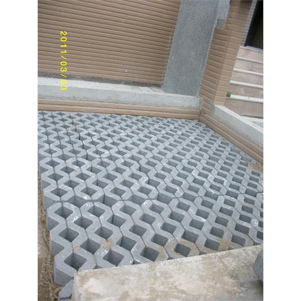 植草磚完工圖2-再興水泥製品有限公司-宜蘭