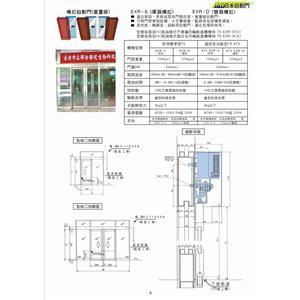 橫拉自動門  (重量級) P-9-鴻運達科技有限公司-台北