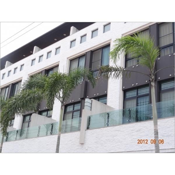 玻璃欄杆-來金行-台南