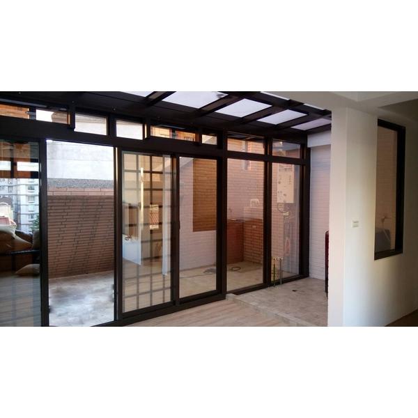 玻璃屋採光罩 &華家固定玻璃氣密落地2-億盛不銹鋼鋁門窗玻璃行-桃園