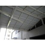 不銹鋼三合一浪板採光罩1