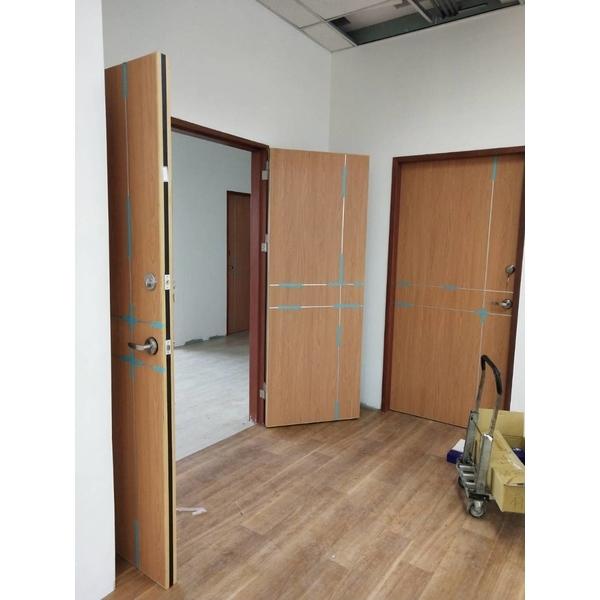 木製防火門(單開、對開)-旺霆科技木業有限公司-雲林