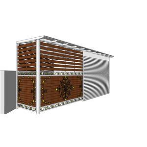 1F側院車庫-金永固金屬建材有限公司-彰化