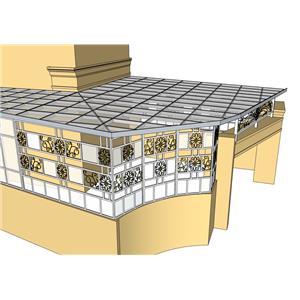 1F採光罩-金永固金屬建材有限公司-彰化