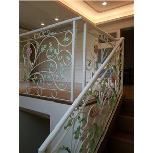 鍛造樓梯扶手-金永固金屬建材有限公司-彰化
