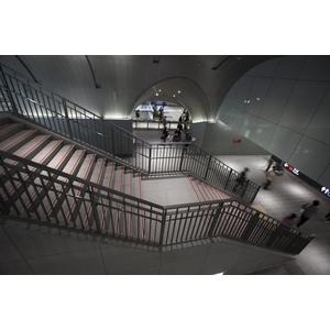捷運大安森林站-室內扶手欄杆