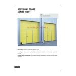 ISD (Doorhan工業用電動滑升門型錄)-愛第爾自動化工程有限公司-高速PVC軟式捲門,門封,工業用升門