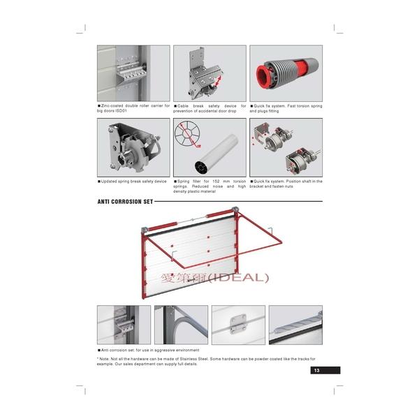 ISD (Doorhan工業用電動滑升門型錄)