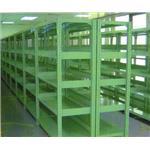 中量型物料架-鐵架,移動櫃,檔案架,貨架,塑膠棧板,免螺絲架-均輝工業股份有限公司