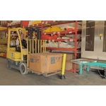 超級防撞柱-鐵架,移動櫃,檔案架,貨架,塑膠棧板,免螺絲架-均輝工業股份有限公司