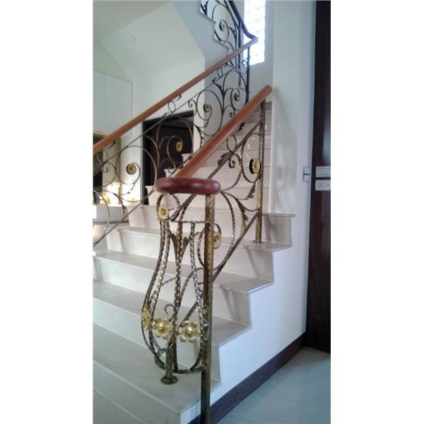 鍛造樓梯扶手-大實行-彰化