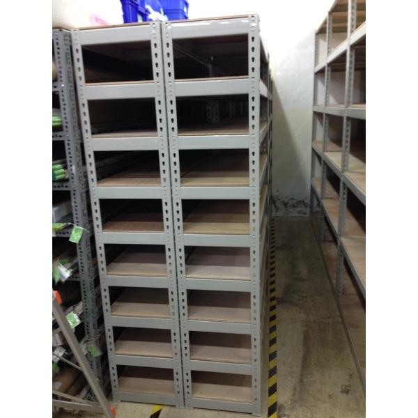 灰色免螺絲置物架-可力爾倉儲收納物流-台中