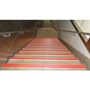 鋁底座止滑條-樓梯實績4