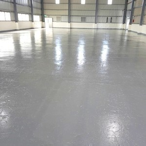 EP環氧灰底漆地板漆完工
