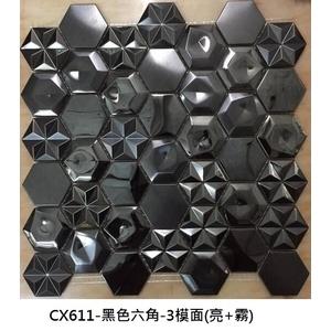 黑色六角 三模面(亮+霧)-吉鈾實業股份有限公司-台中