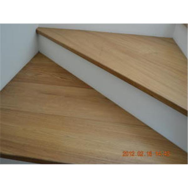 新原古系列-緬甸柚木浮雕處理樓梯板