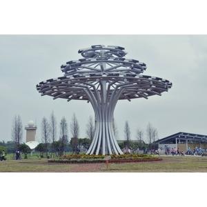 全國首創最大型的太陽能生命樹