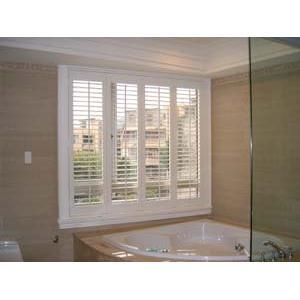 浴室時尚折疊窗
