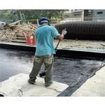 防水毯施作(施工中、施工完成)-pic