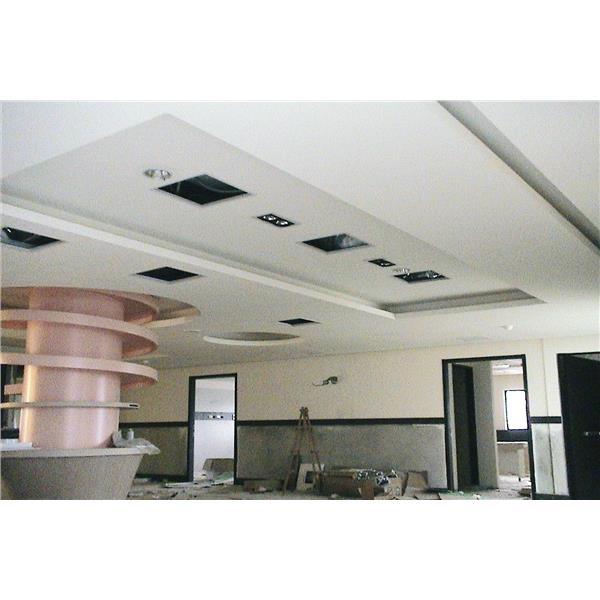輕鋼架(暗架) 矽酸鈣板造型天花板-揚名興業股份有限公司-新北