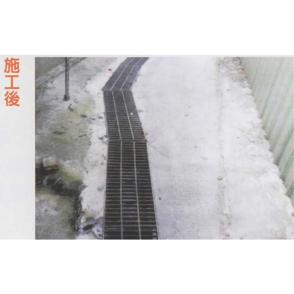 防臭防蚊水溝蓋施工後A-長勝環境科技有限公司-台南