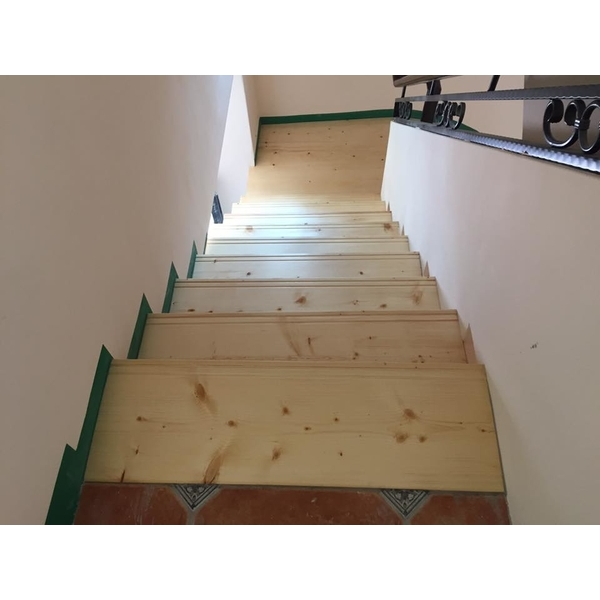 木樓梯踏板-皇家木作工程-花蓮