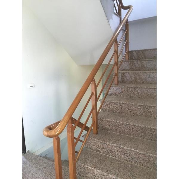 木製樓梯扶手-皇家木作工程-花蓮