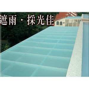 玻璃採光罩-越大建材行-苗栗