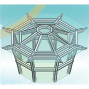 八卦式玻璃屋-越大建材行-苗栗