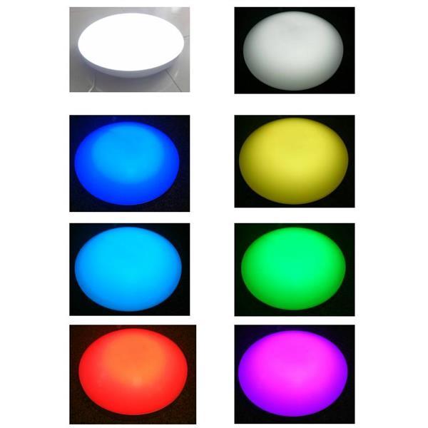 RGBW 可遙控吸頂燈