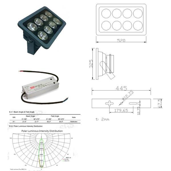 300W LED 泛光燈/投光燈