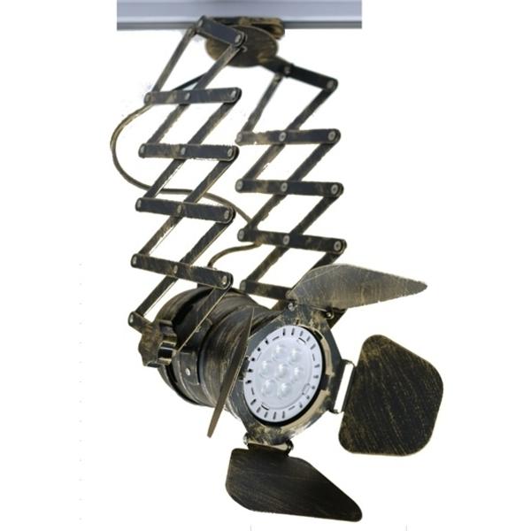 伸縮軌道燈具
