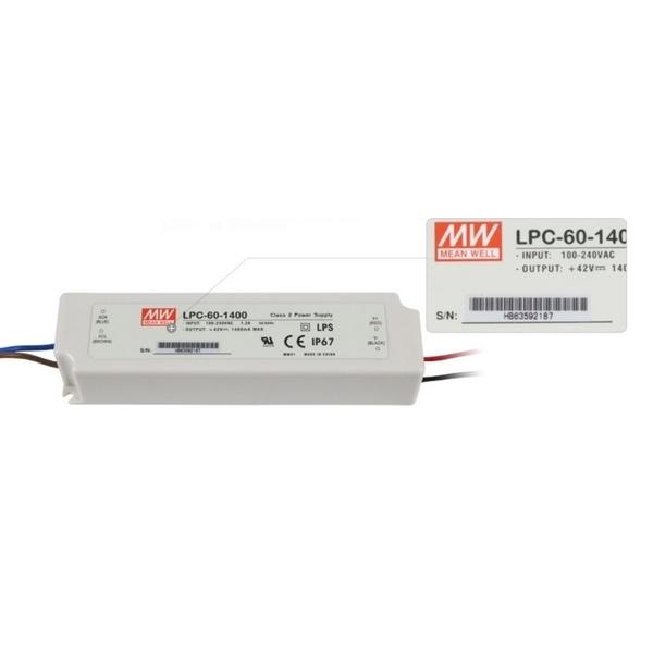 LPC-60-1400 MW LED防水驅動